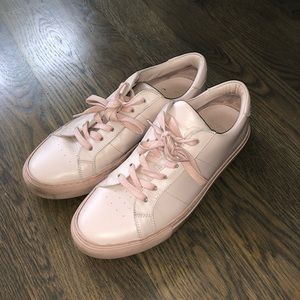 Greats blush pink sneakers